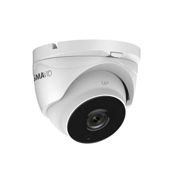 SMAVID 2 MP EXIR-Motorzoom HD-TVI Turret-HD-Kamera